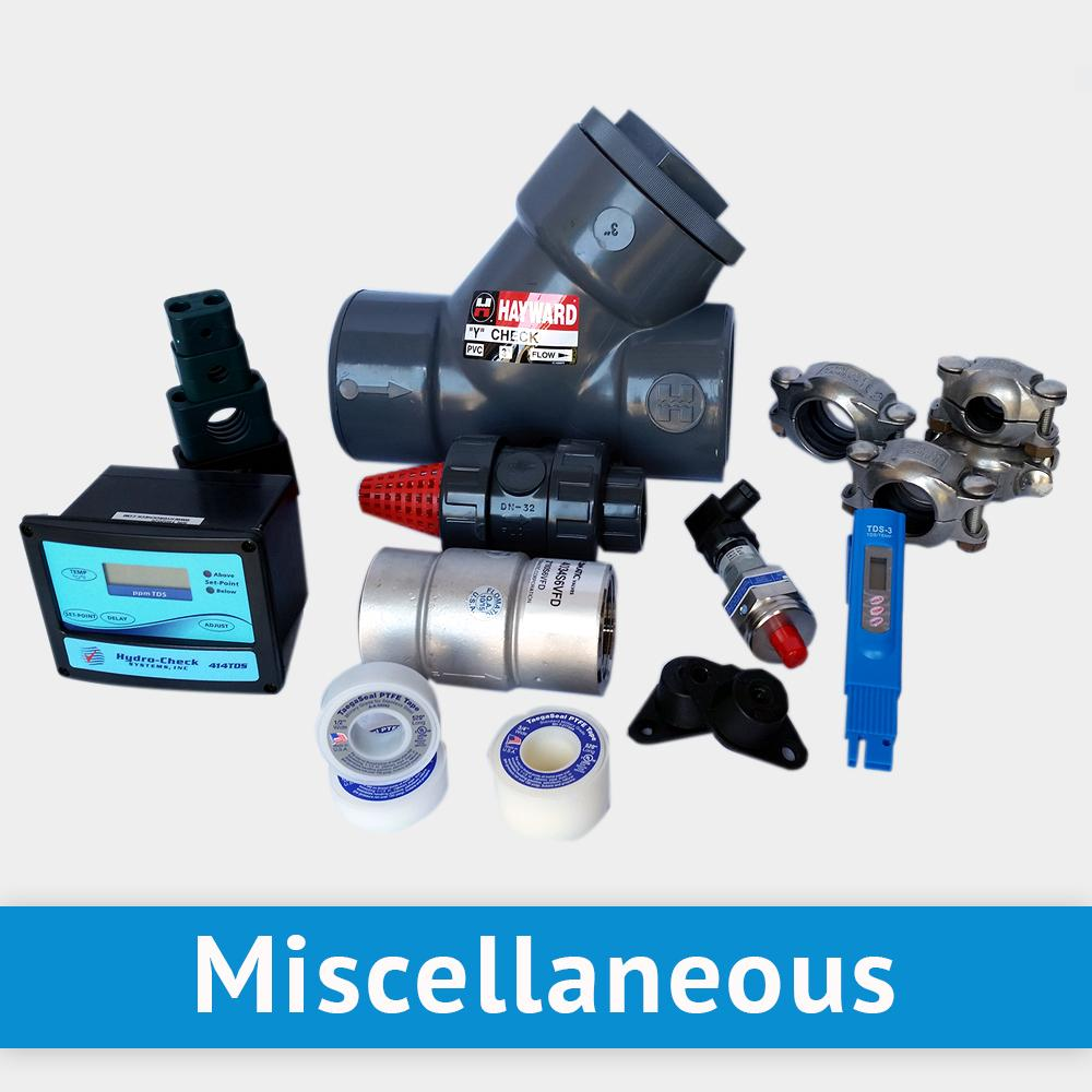 Watermaker Parts & Components